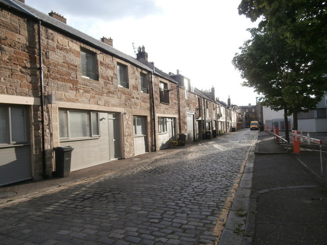Dewar Place Lane, Edinburgh