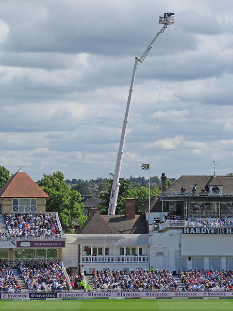 Trent Bridge Cricket Ground: Sky high