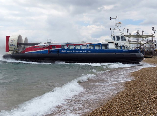 The hovercraft at Southsea