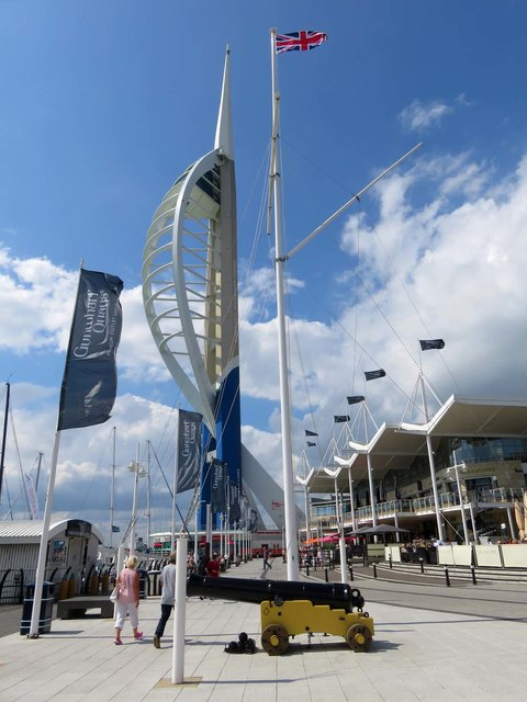 The Spinnaker Tower on Gunwharf Quays