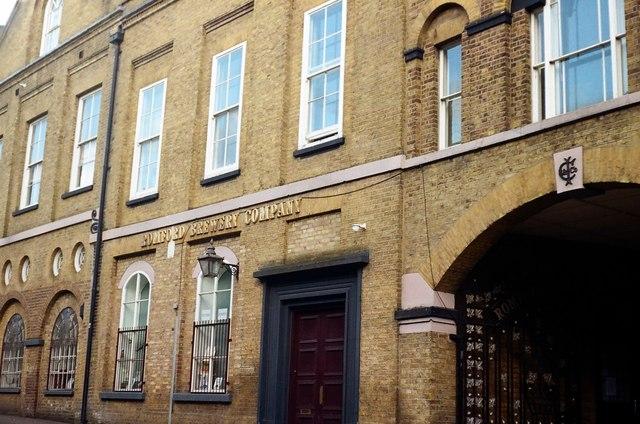 Former Romford Brewery building