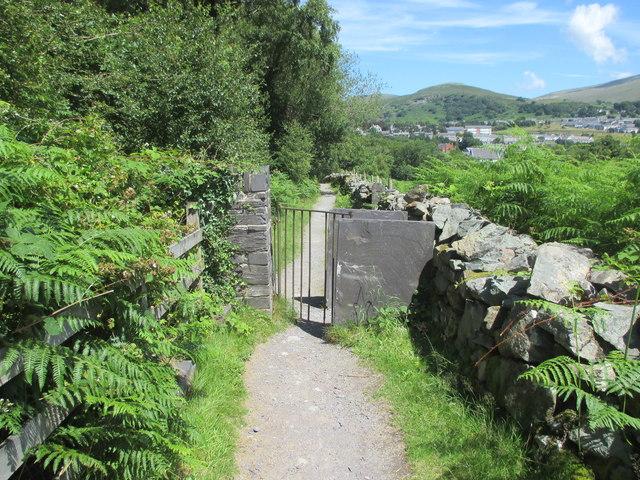 Kissing gate, Tanysgafell