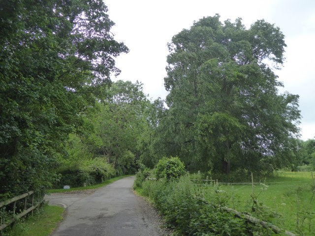 Footpath to Home Farm, Great Chalfield