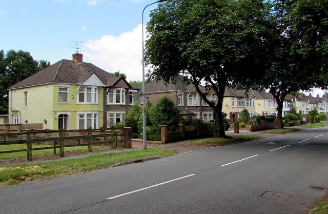 New Road semis, Rumney, Cardiff