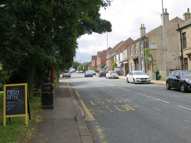 Whitehall Road (A58) in Drighlington