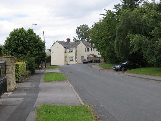 Field Head Lane at Drighlington