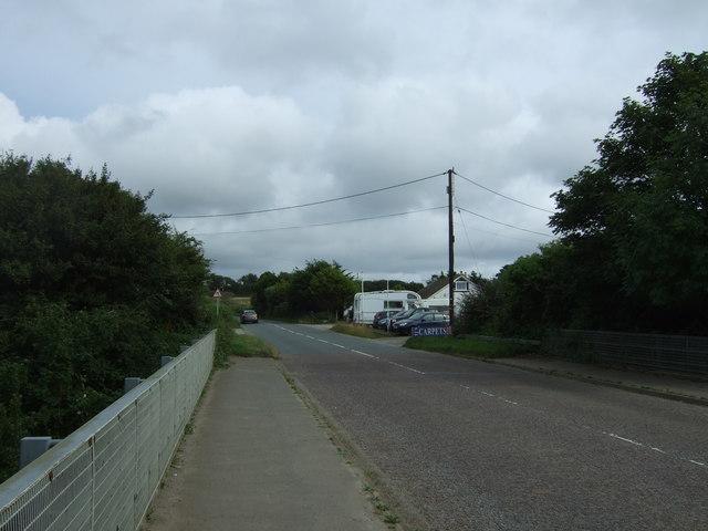 Mellanear Road (B3302)