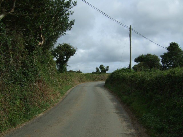 Trenhayle Lane towards St Erth