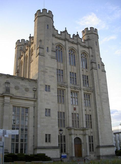 H.H. Wills Physics tower
