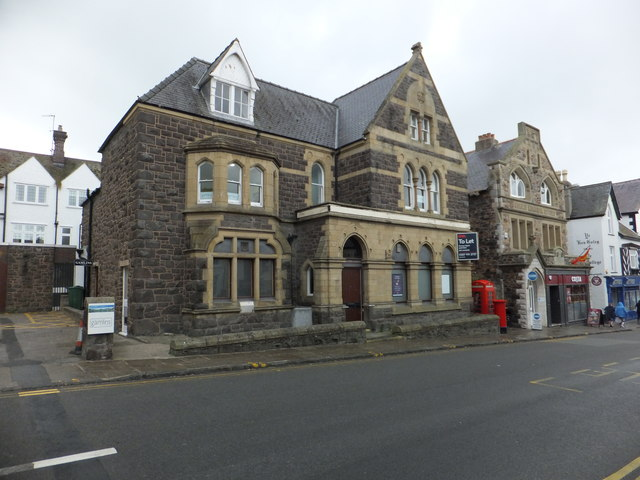 The former NatWest bank, Conwy