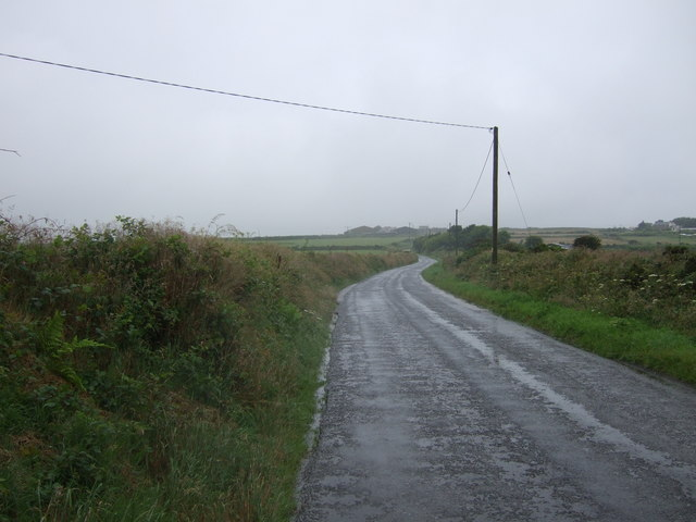 B3280 towards Redruth