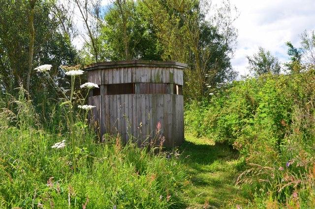 Wildlife hide, Bowden Common