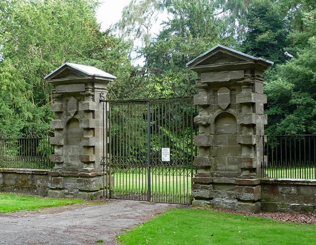 Gates near Shobdon