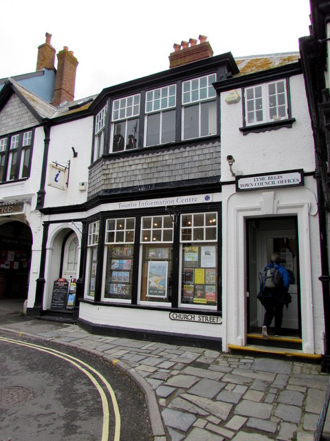 Lyme Regis Tourist Information Centre and Town Council Offices