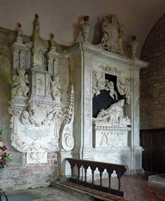 Scudamore monuments, Holme Lacy