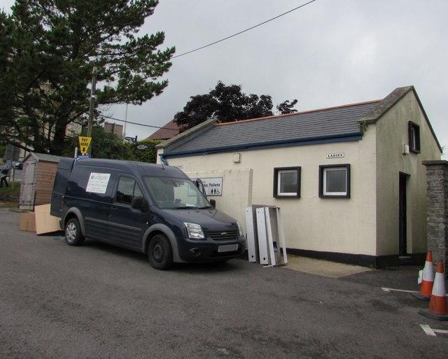 Car park public toilets, Lyme Regis