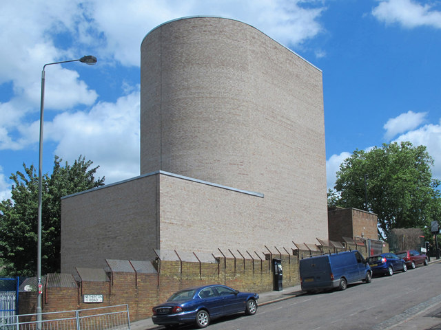 Victoria Line ventilation shaft, Netherton Road / Seven Sisters Road, N15 (3)