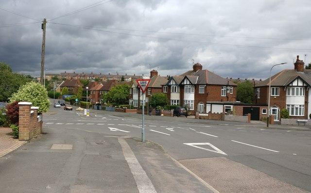 Sandhurst Road at Dane Hills, Leicester