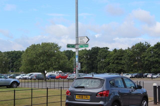Sirhowy Valley Walk signs, Duffryn