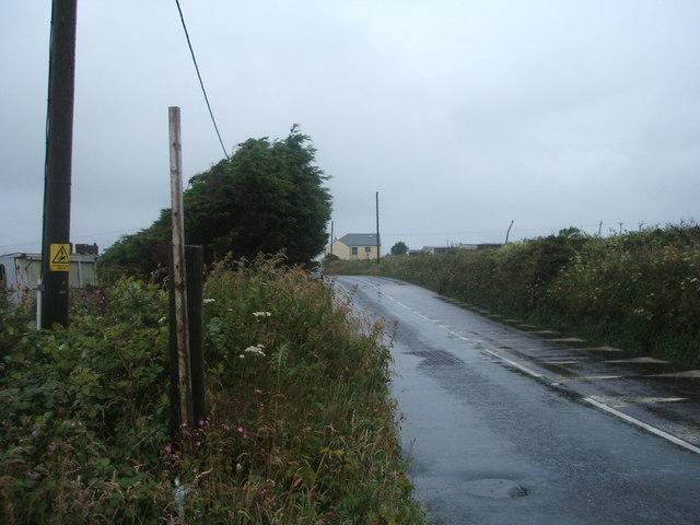 B3297 towards Redruth
