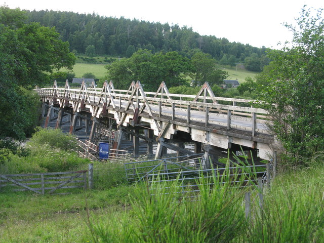 Broomhill Bridge, River Spey