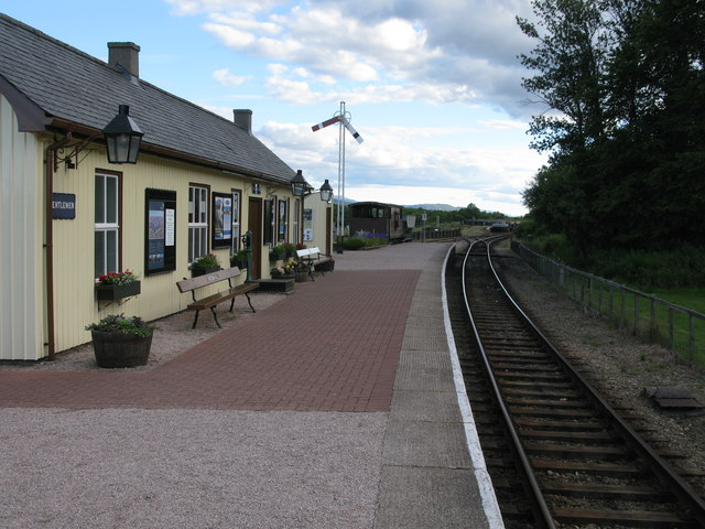 Broomhill Station, Strathspey Railway