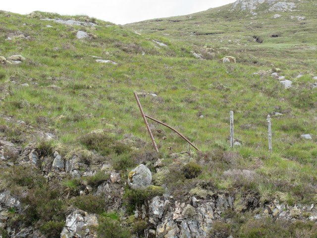 Is there sense in this fence high above upper Speyside?