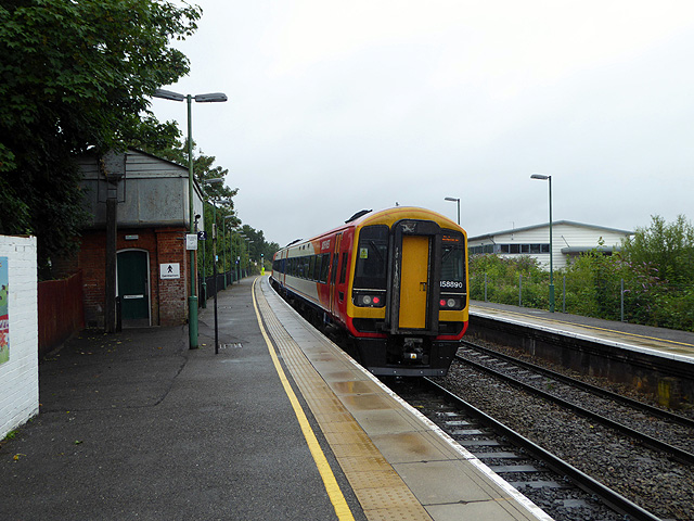 South West Trains class 158 at Romsey