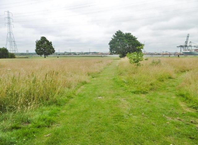 Eling, footpath