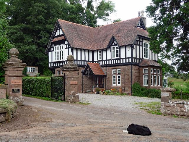 Lodge near Sellack