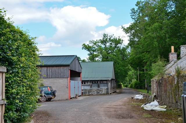Farm buildings at Whiterigg