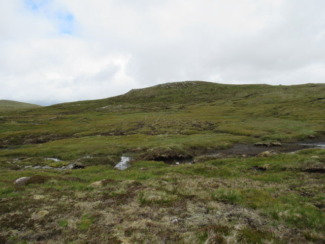 Hard ground across the bog east of Gairbeinn on upper Speyside
