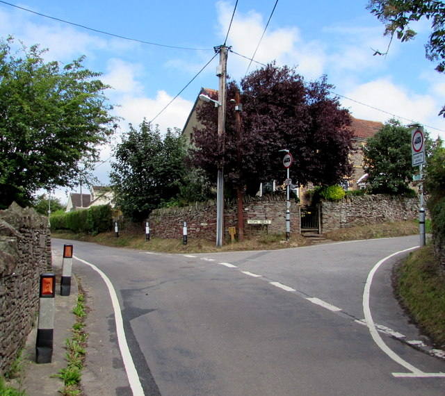Junction of Nibley Lane and Hope Road, Nibley, South Gloucestershire
