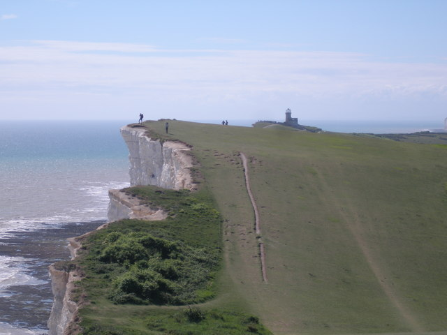 Gullying of the South Downs Way at Shooters Bottom