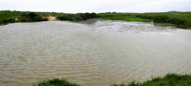 Barn Pond, Hastings Country Park