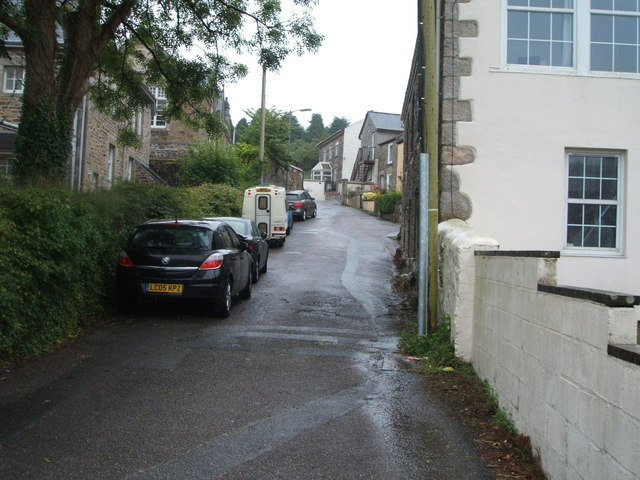 Back lane off Falmouth Road, Redruth