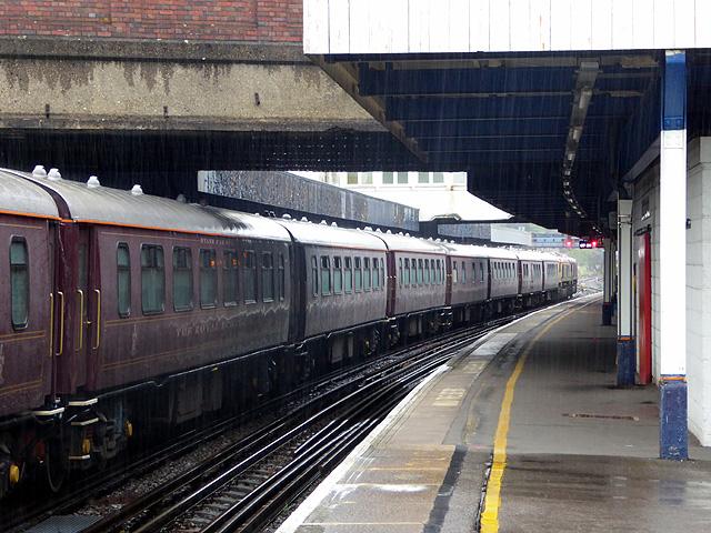 'Royal Scotsman' at Southampton