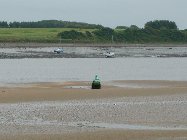 Buoy 23, Wyre estuary, Fleetwood