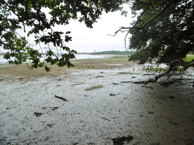 Eling, foreshore