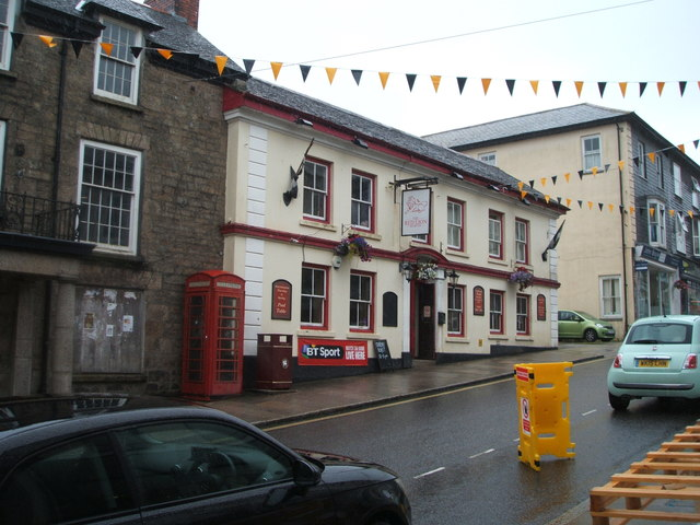 The Red Lion public house, Redruth