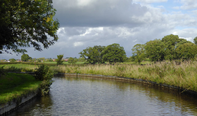 Llangollen Canal south-west of Tetchill, Shropshire