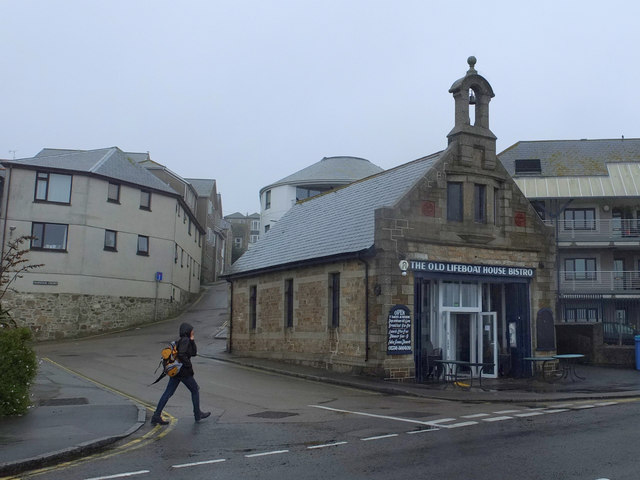 The Old Lifeboat House Bistro, Wharf Road, Penzance