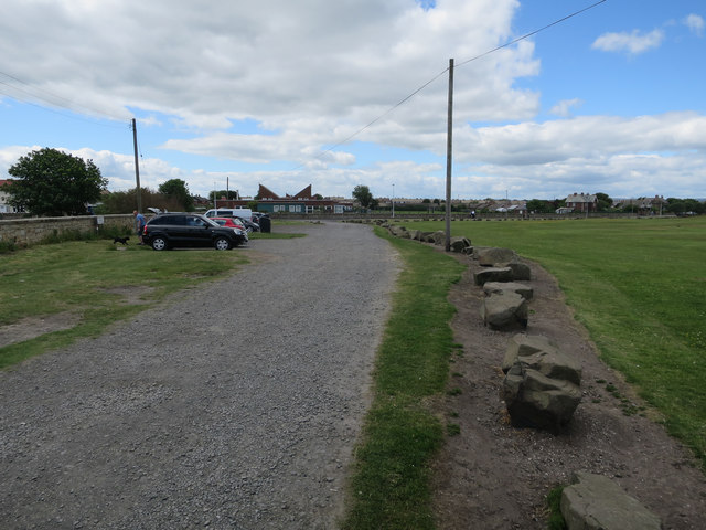 Free parking in Amble