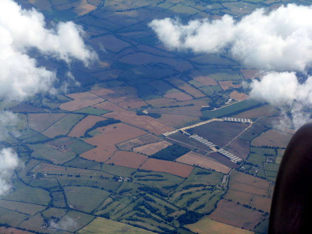 Poultry farm on Wing Airfield