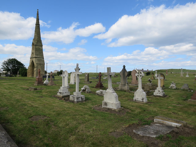 East Cemetery, Amble