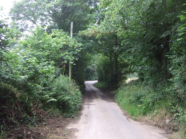Trenhayle Lane towards St Erth