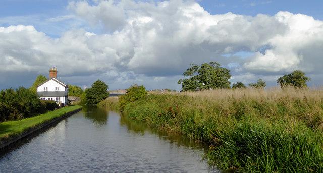 Llangollen Canal north-west of Tetchill, Shropshire