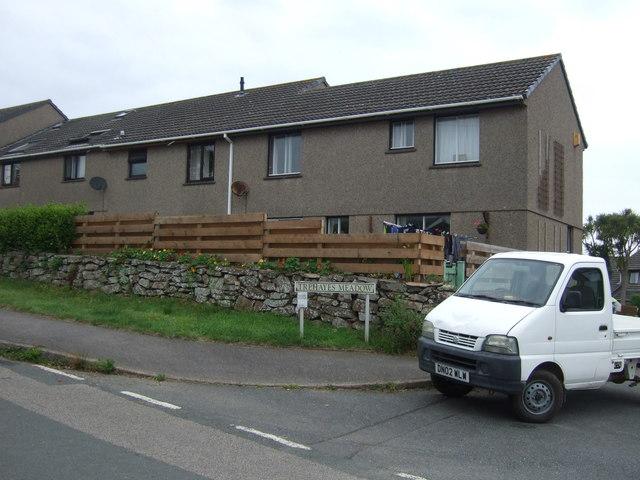 Houses on Tredrea Lane, Little Mill