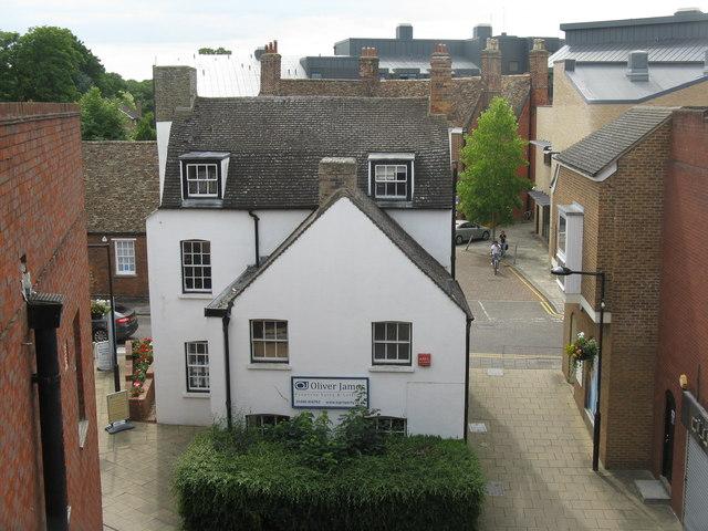 Property agent's office, Huntingdon