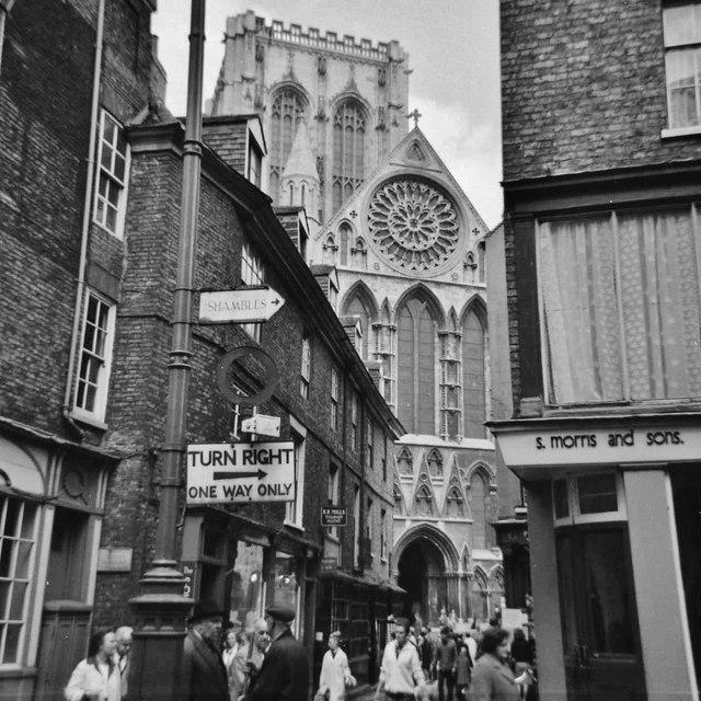Minster Gate, York